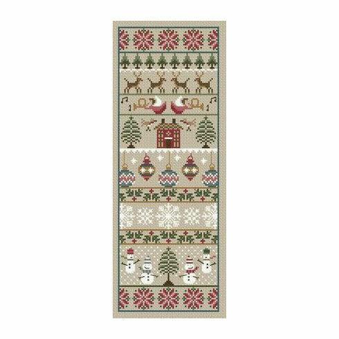 Merry Christmas Cross Stitch Kit