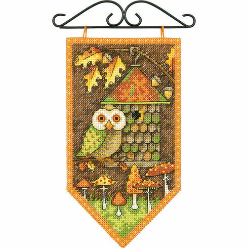 Autumn Banner Cross Stitch Kit