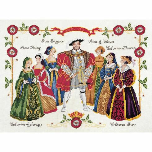 Henry VIII Cross Stitch Kit