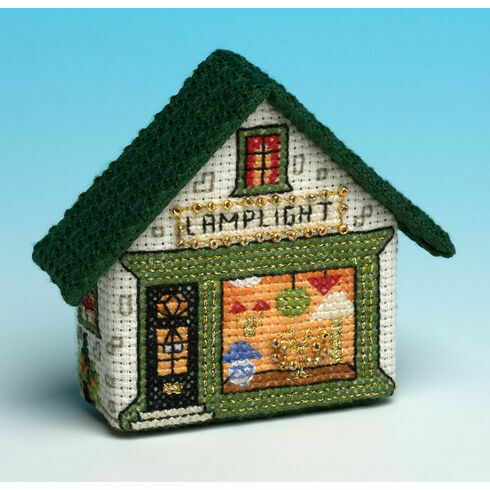Lamplight 3D Fridge Magnet Cross Stitch Kit