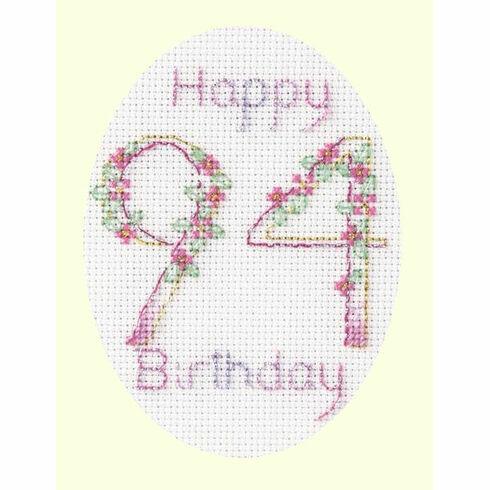 Happy Occasions Cross Stitch Card Kit