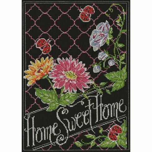 Home Sweet Home Chalkboard Cross Stitch Kit
