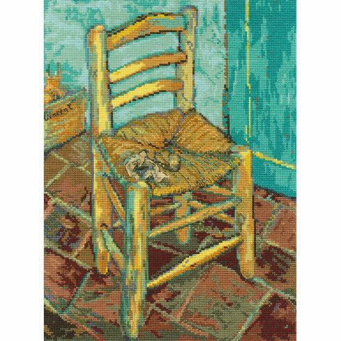 Van Gogh's Chair Cross Stitch Kit