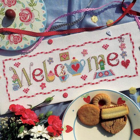 Welcome Word Cross Stitch Kit