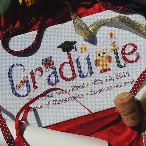 Graduate Cross Stitch Kit