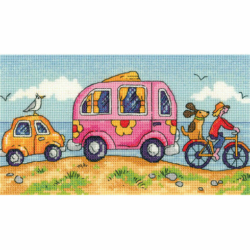 Are We There Yet Cross Stitch Kit (Heritage Crafts)