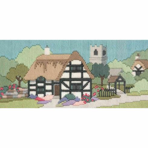Church Lane Long Stitch Kit