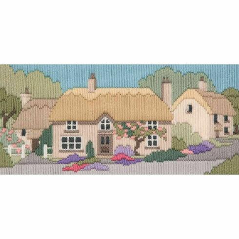 Rose Lane Long Stitch Kit