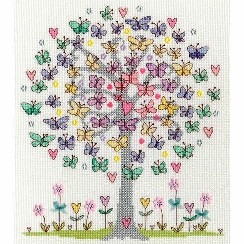 Love Spring Cross Stitch Kit