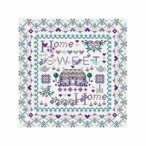 Riverdrift Home Sweet Home Cross Stitch Kit