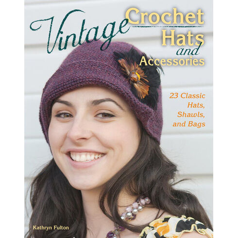 Vintage Crochet Hats & Accessories Book