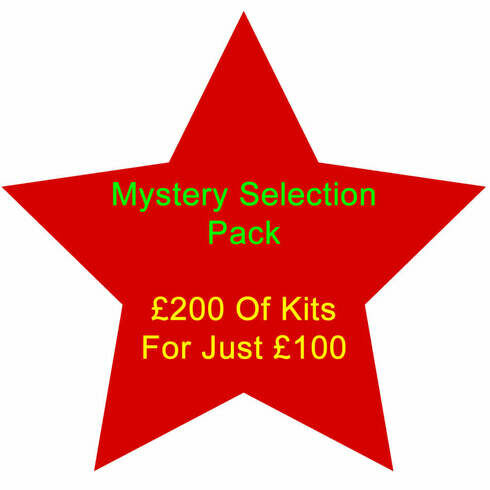 Mystery Pack - £200 Of Kits For £100