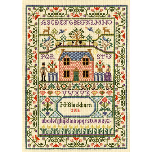Country Cottage Cross Stitch Kit