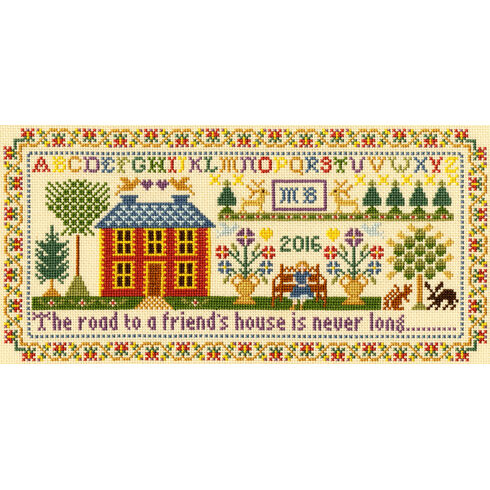 Friends House Cross Stitch Kit