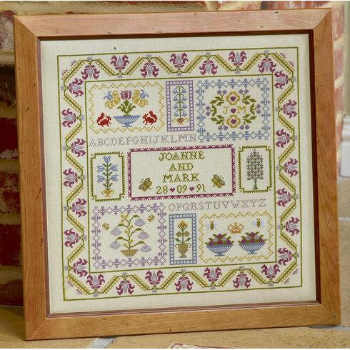 Wedding Boxes Cross Stitch Kit