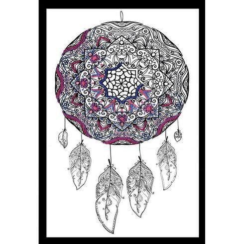 Design Works Dreamcatcher - Zenbroidery Fabric Pack