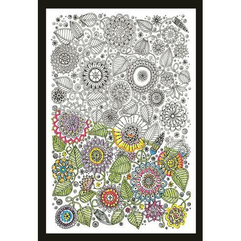 Design Works Floral - Zenbroidery Fabric Pack