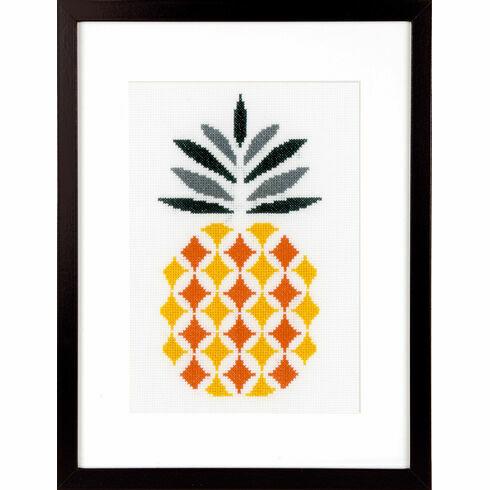 Pineapple Cross Stitch Kit