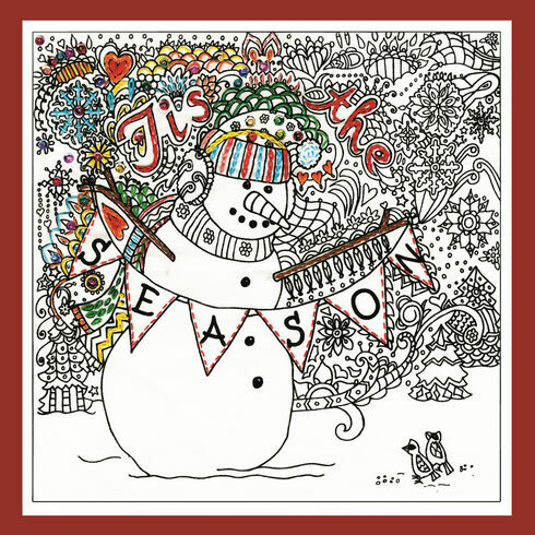 Zenbroidery - Tis The Season Fabric Pack