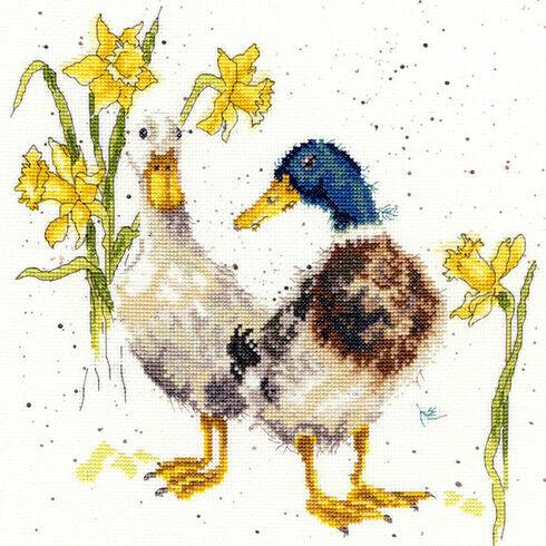 Ducks And Daffs Cross Stitch Kit