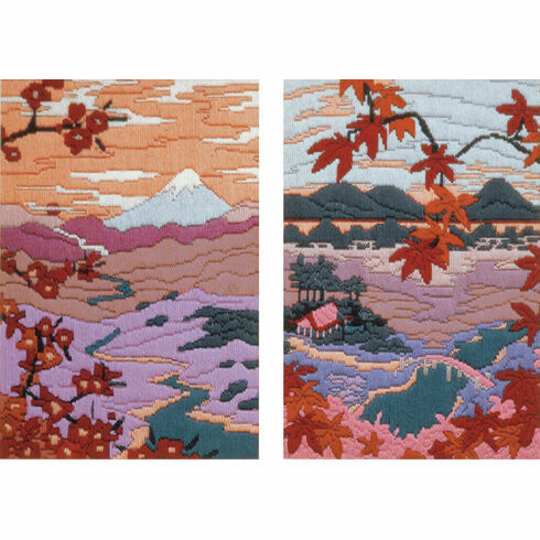 Serenity & Tranquility Long Stitch Kits