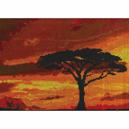Savannah Sunset Cross Stitch Kit