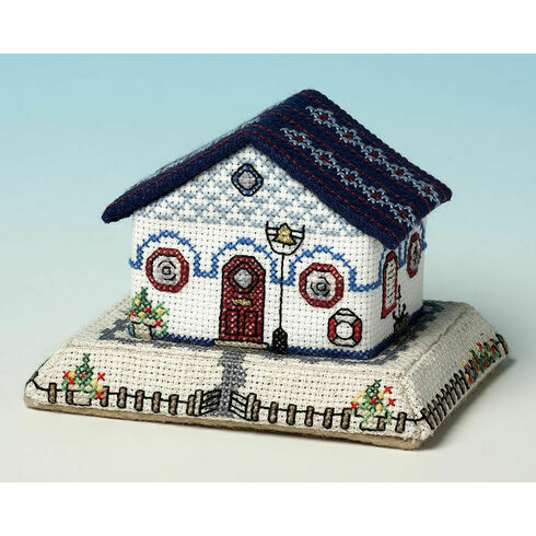 Harbourmasters Cottage 3D Cross Stitch Kit