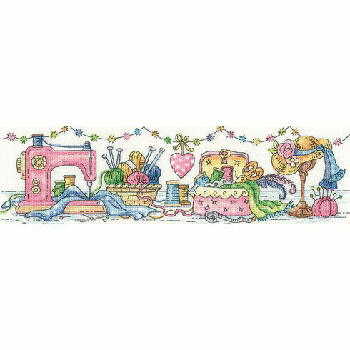 The Sewing Room Cross Stitch Kit