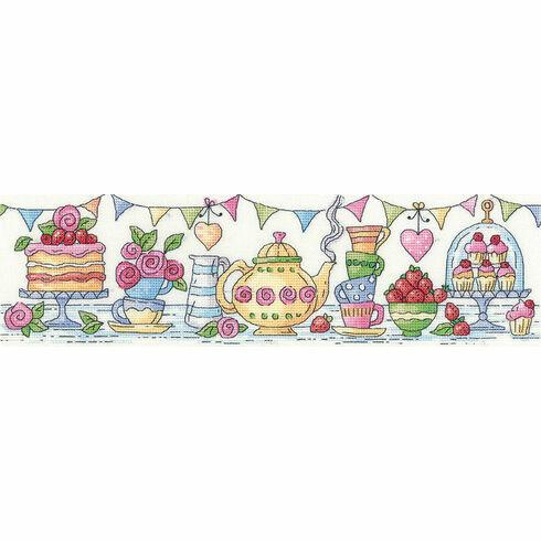 Afternoon Tea Cross Stitch Kit