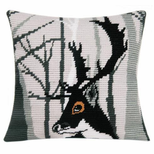 Hugo Angled Clamping Stitch Cushion Panel Kit