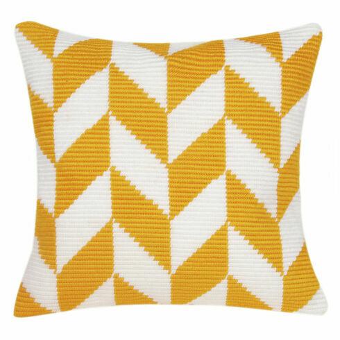 Herringbone Angled Clamping Stitch Cushion Panel Kit