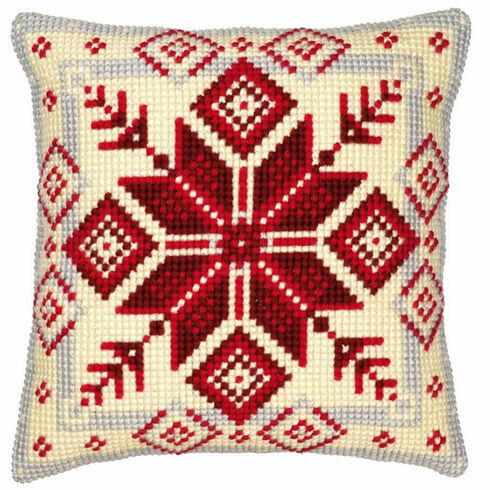 Geometric 1 Chunky Cross Stitch Cushion Panel Kit