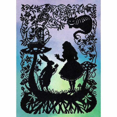 Alice In Wonderland (P) Cross Stitch Kit