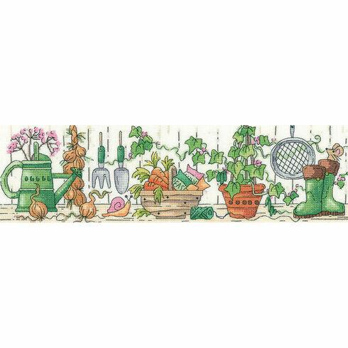 The Potting Shed Cross Stitch Kit