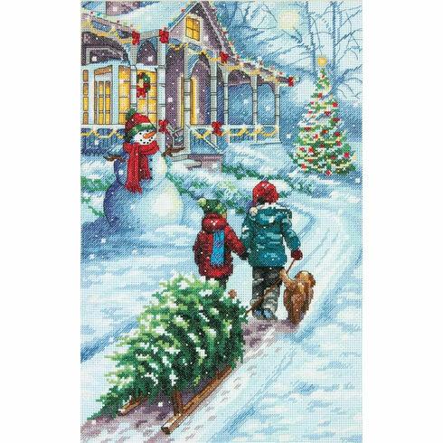 Christmas Tradition Cross Stitch Kit