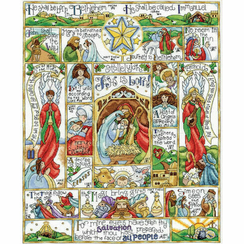 Nativity Story Cross Stitch Kit