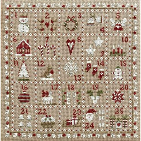 Advent Calendar Cross Stitch Kit