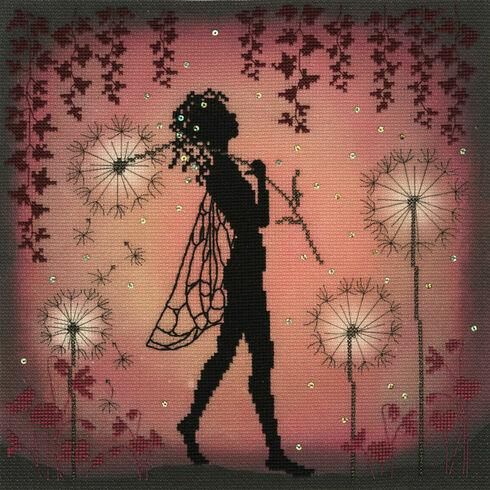 Dandelion Fairy Cross Stitch Kit