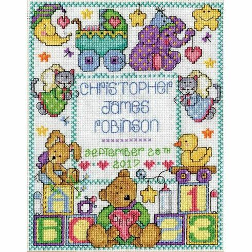 ABC Baby Sampler Cross Stitch Kit