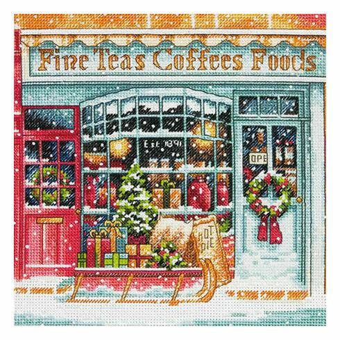Coffee Shoppe Cross Stitch Kit