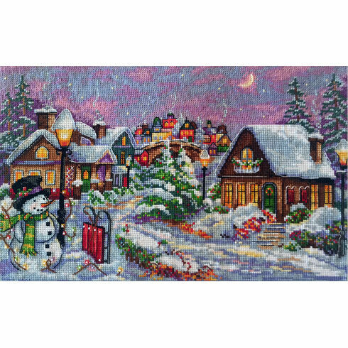 Christmas Night Cross Stitch Kit