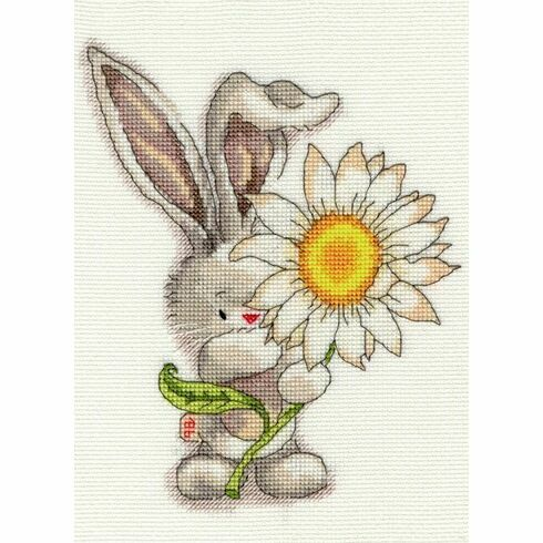 Bebunni - Daisy Cross Stitch Kit