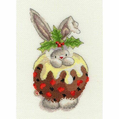 Bebunni - Christmas Pudding Cross Stitch Kit