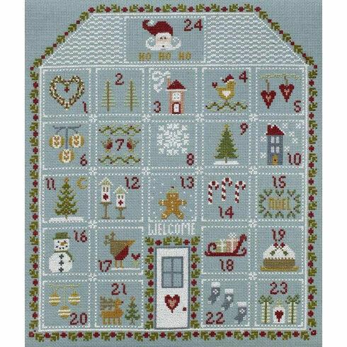Advent House Cross Stitch Kit
