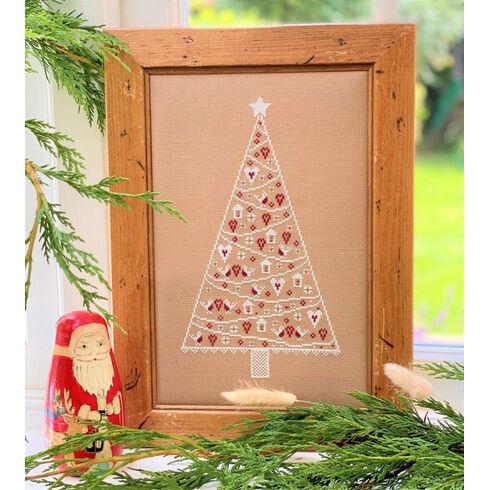 Scandi Christmas Tree Cross Stitch Kit