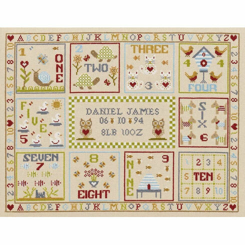 123 Count With Me Cross Stitch Kit