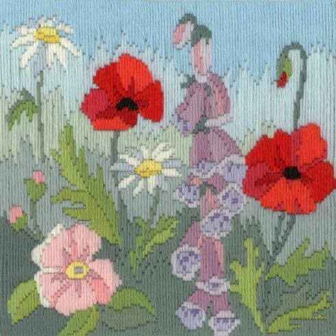 Summer Seasons Long Stitch Kit