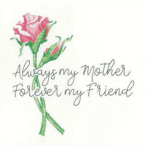 Always My Mother Cross Stitch Kit