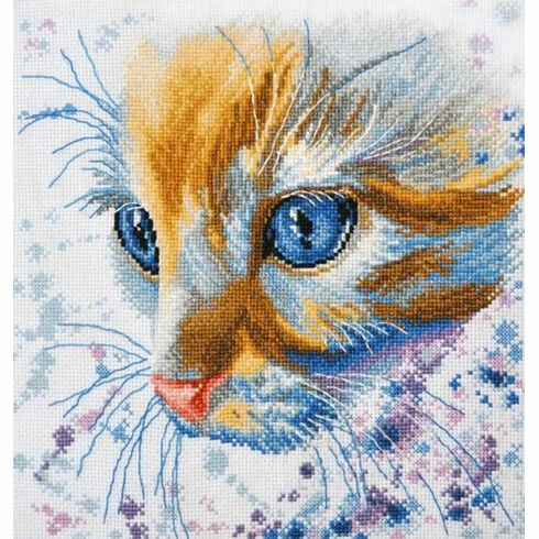 Ginger Cat Cross Stitch Kit