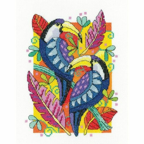 Toucan Cross Stitch Kit